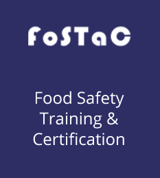 Each Food Business Operator needs to have at least one trained and certified person in their business premises to ensure food safety